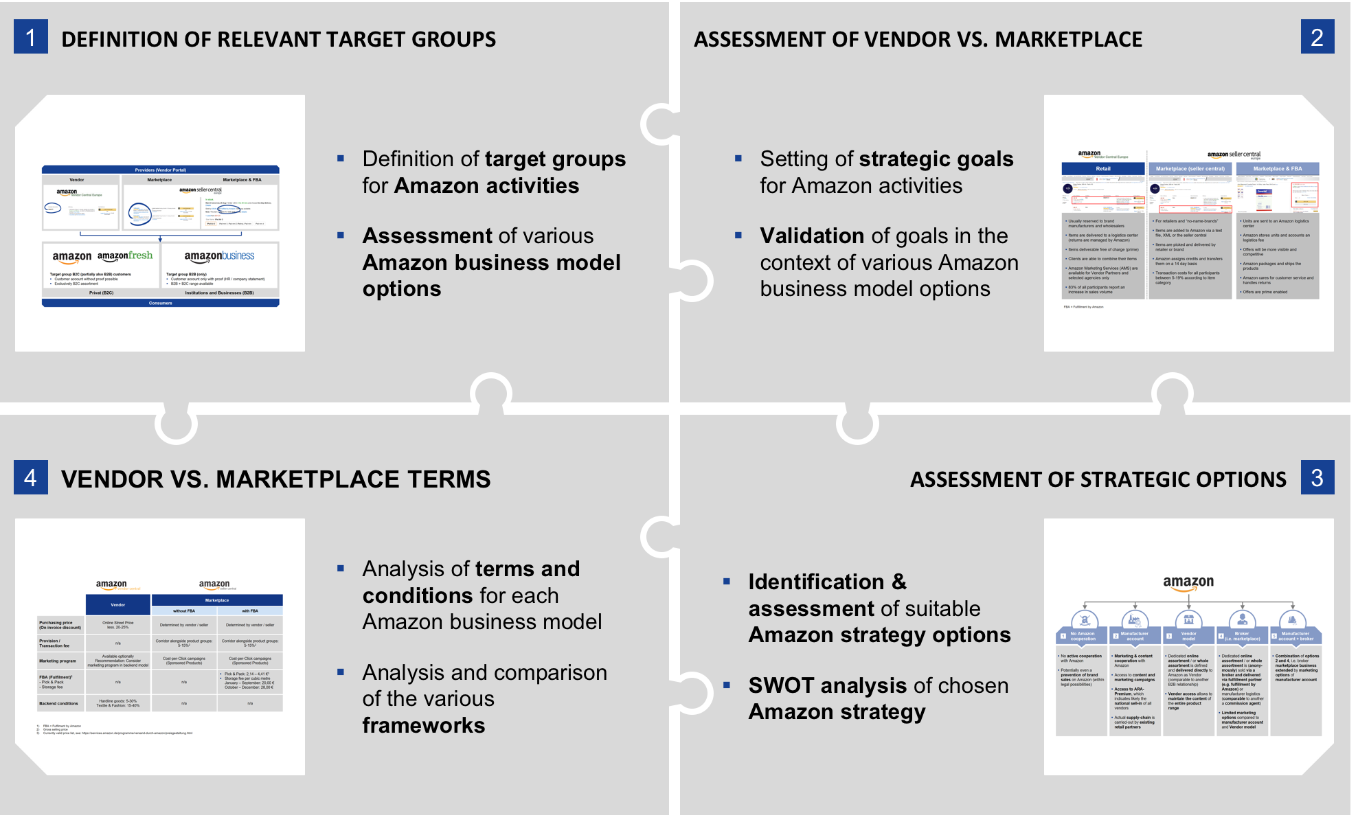 Amazon Strategy Consulting Services